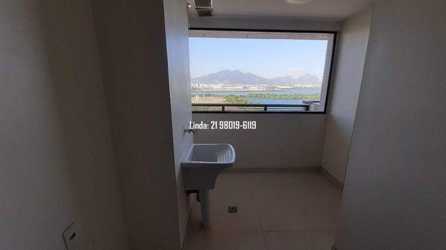 Cobertura no Ilha Pura, 3 quartos, 281m, piscina, sauna, churrasqueira, vista lagoa/mar - Foto 7