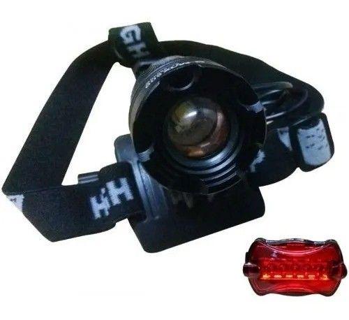 Lanterna De Cabeça E Farol Para Bike B-max Swat Ultra Forte - Loja Natan Abreu - Foto 2