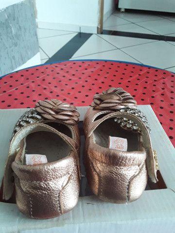 Sandália Boneca Pérola  tamanho 18 - Foto 3