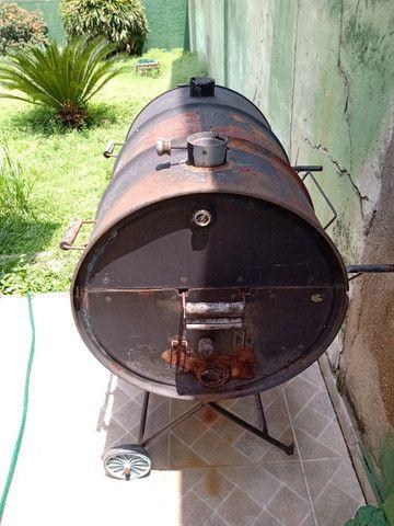 Churrasqueira no bafo - Foto 4
