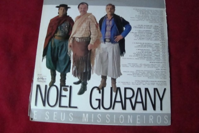 Lp Vinil - Noel Guarany - A Volta do Missioneiro - 1988 - Autografado - Raro - Foto 3
