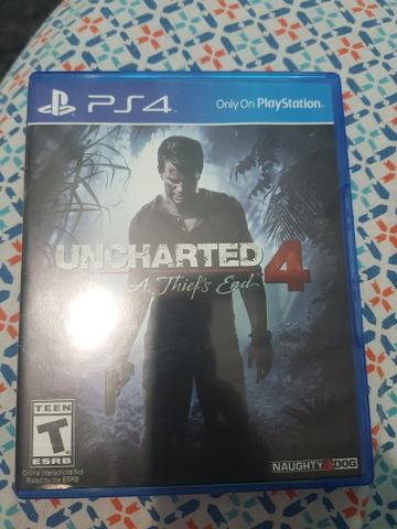 Uncharted 4 e minecraft Ps4