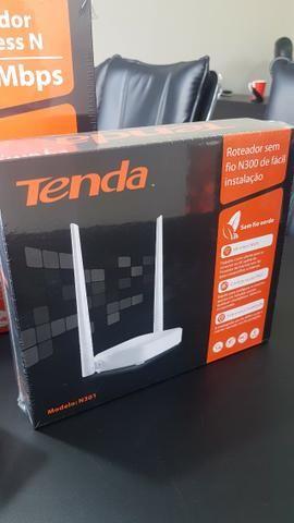 Roteador Wireless 300Mbps 2 Antenas - Tenda - Nova