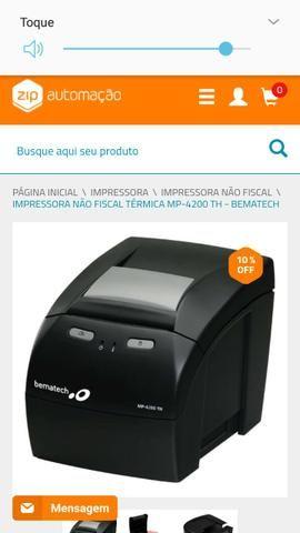 Impressora bematech