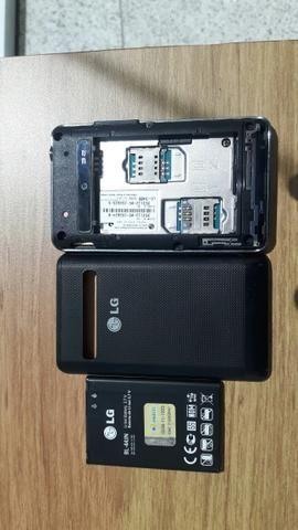 Smartphone LG - E450f dual chip Desbloqueado