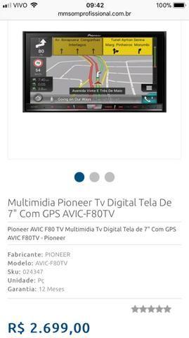 Multimídia Pioneer TV Avic-F80TV