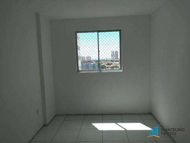 Apartamento com 3 dormitórios para alugar, 63 m² por R$ 1.509/mês - Monte Castelo - Fortal - Foto 10