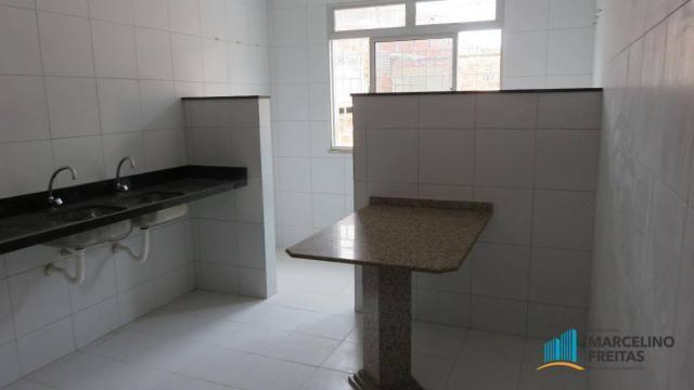 Casa com 1 dormitório para alugar, 38 m² por R$ 609,00/mês - Álvaro Weyne - Fortaleza/CE - Foto 6