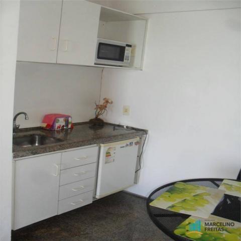 Flat residencial para locação, Mucuripe, Fortaleza. - Foto 16