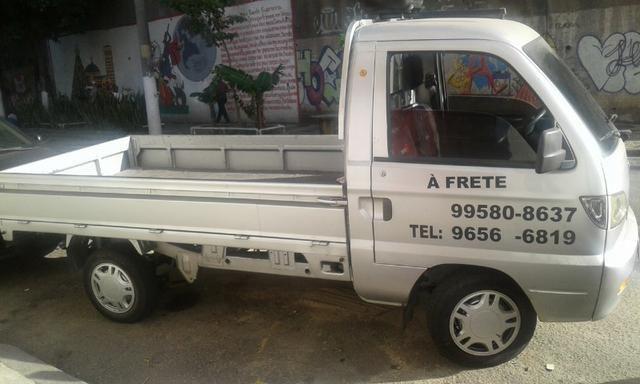 Fretes e pequenas mudanças, em pick-up. carroceria aberta. Local; Bairro de Fátima-RJ.