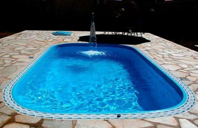 Piscina 4,70x2,66 (10x) Branca ou azul (direto da fábrica) - Foto 3