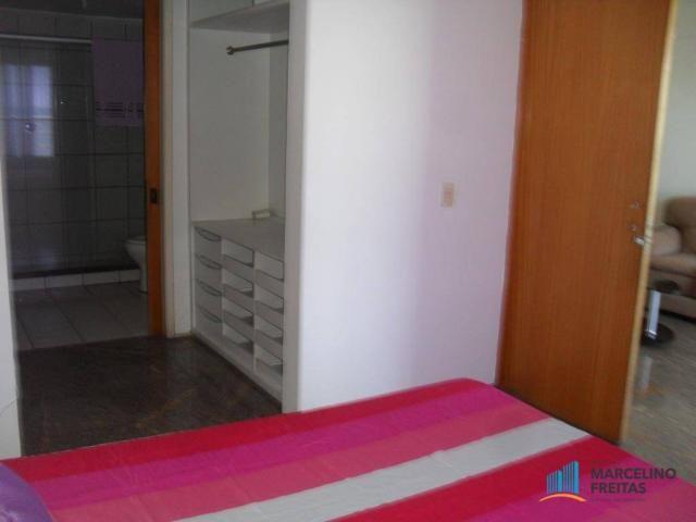 Flat residencial para locação, Mucuripe, Fortaleza. - Foto 19