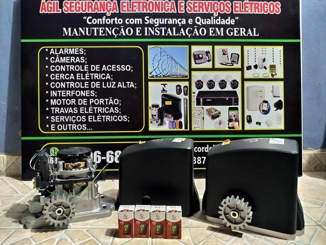 Ágil segurança eletrônica e serviços elétricos