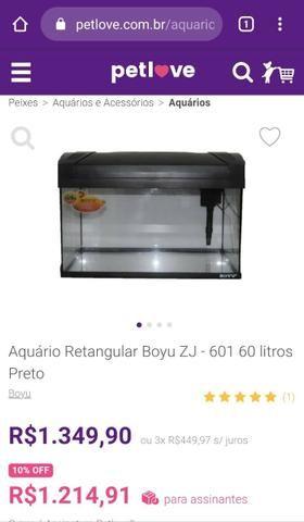 Aquário Boyu ZJ-601 / 60 Litros - Foto 4
