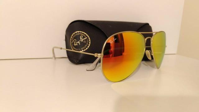 9882712570305 Óculos Ray Ban espelhado original - Bijouterias, relógios e ...