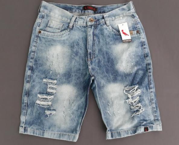 29b744220aeee0 Bermuda Jeans Masculina Marca Famosa