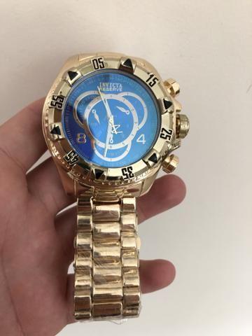 8ff25a166a2 Relógio Invicta Reserve novo pronta entrega - Bijouterias