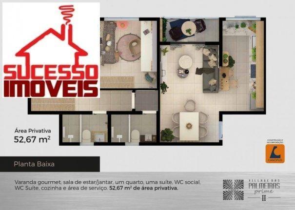 VILLAGE DAS PALMEIRAS PRIME II - Apartamento Alto Padrão em Lançamentos no bairr... - Foto 14