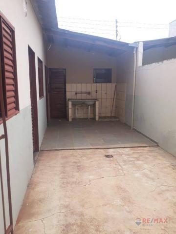 Casa com 1 dormitório para alugar, 50 m² por R$ 550,00/mês - Eldorado - São José do Rio Pr