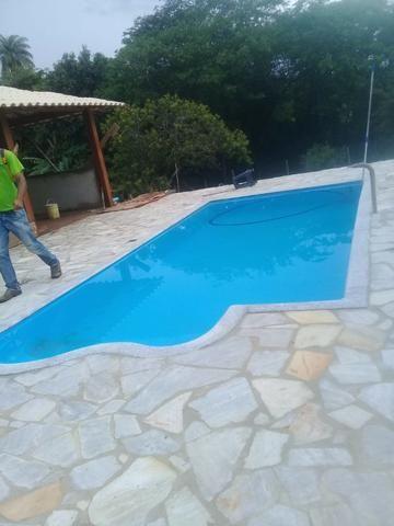 MB - Promoção Piscina Fibra 7 metros* Instalada - Foto 2