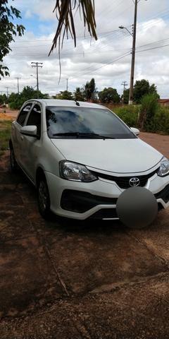 Vendo ágio Toyota Etios 1.3x 2017/2018