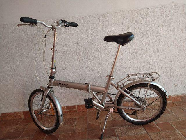 Bicicleta blitz alloy dobrável