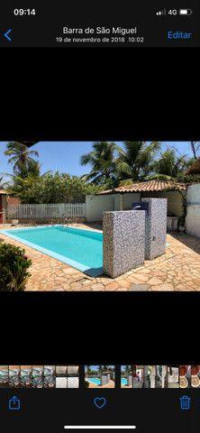Casa Barra de S Miguel 4 quartos piscina 50Ms do mar Barramar e internet - Foto 5