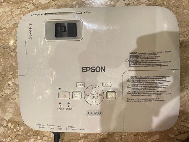 Projetor Epson Ex3200 - Foto 5