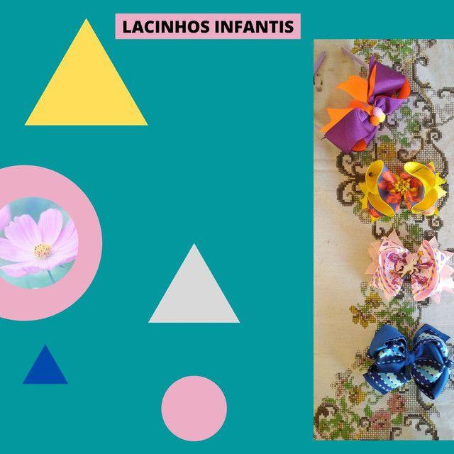 Laços e tiaras infantis - Foto 3
