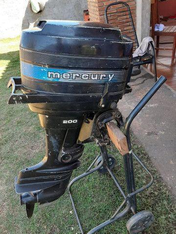 Motor para barco Mercury 20 - Foto 4