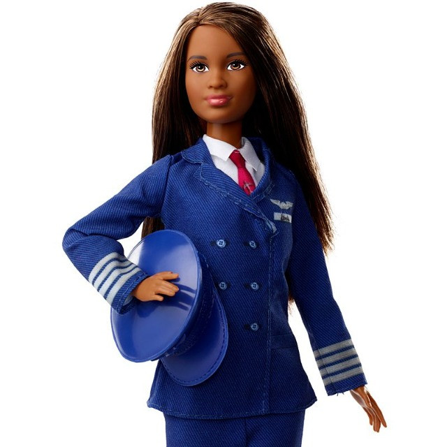 Boneca Barbie Piloto de Avião - Negra lindaaaa! - Foto 2