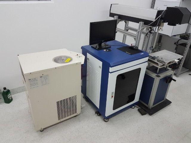 Equipamento de gravação a Laser