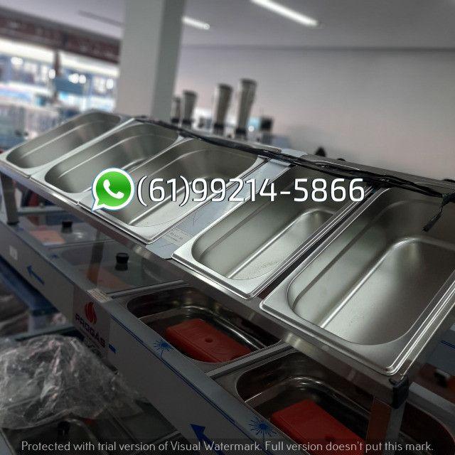Condimentadora 5 cubas Inox Kit Pizzaiolo Italinox
