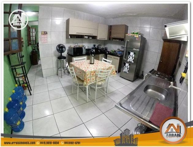 Casa com 3 dormitórios à venda, 100 m² por R$ 350.000,00 - Benfica - Fortaleza/CE - Foto 7