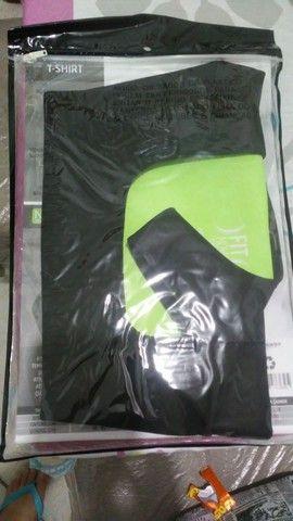 T-Shirt para exercícios - Foto 3