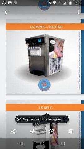 Vendo máquina de sorvete expresso nova