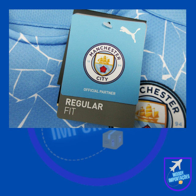 Camisa Manchester City 20/21 - Foto 6