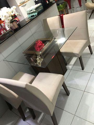 Vende mesa 4 cadeiras  - Foto 3