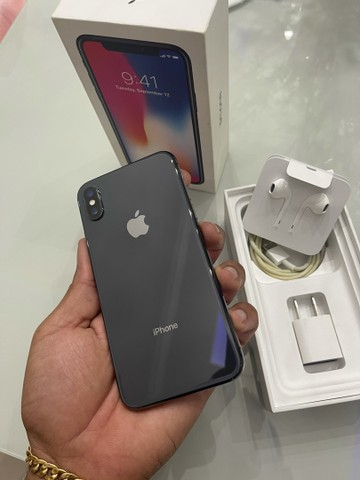 iPhone X 64gb space completo 12x262,00 - Foto 6