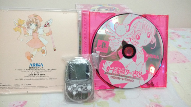 Psone Sakura Card Captors Clow Magic + Pocketstation - Foto 5