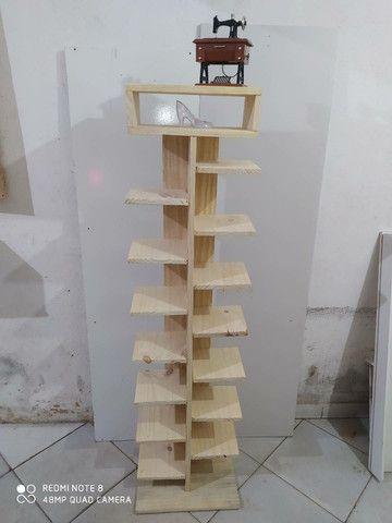 Faço móveis de pallet  - Foto 4