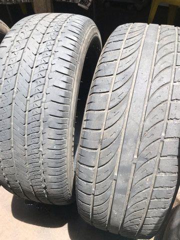 4 pneus usados 205/55/16 2 bridgstone 2 enzo - Foto 3