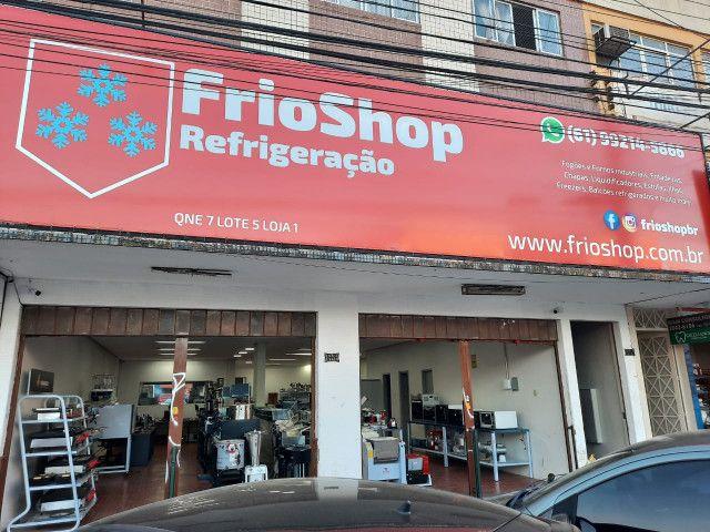 Fritadeira 10 Litros 2 Cubas Inox Quadrada 300 graus Elétrica Irmãos Ribeiros - Foto 6