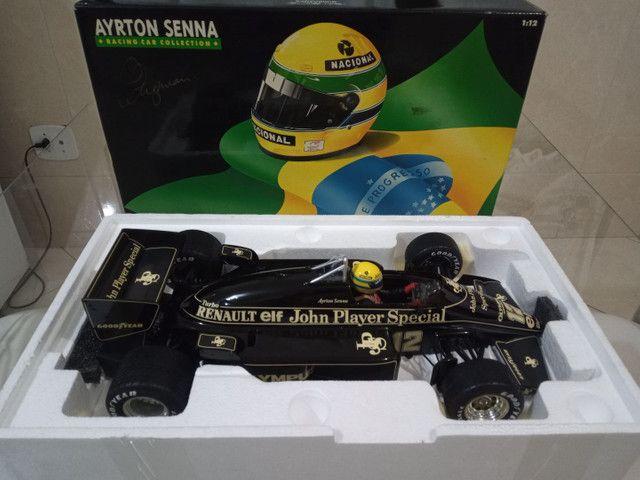 Miniatura Lotus Renault 97T Minichamps 1/12