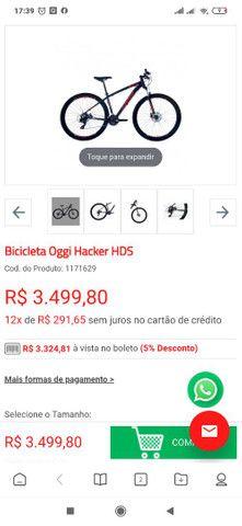 Bicicleta Oggi Hackers HDS idraulico - Foto 5