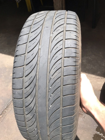 4 pneus usados 205/55/16 2 bridgstone 2 enzo
