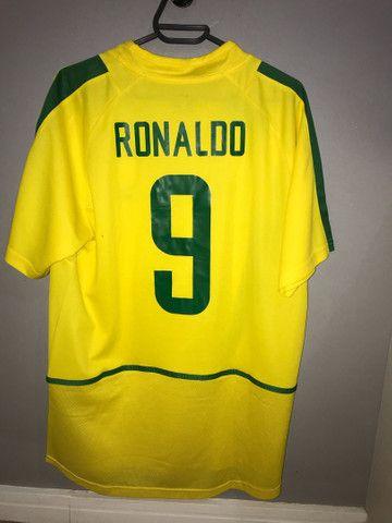 Camisa Retro Ronaldo  - Foto 2