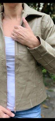 Jaquetas em couro legítimo fem - Foto 6