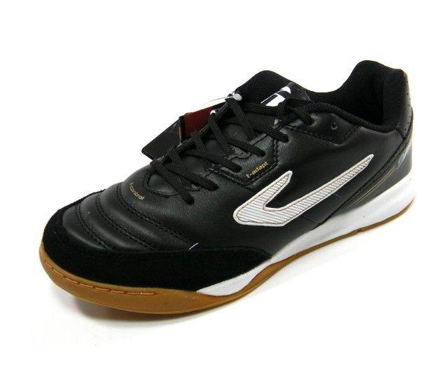Chuteira Futsal Topper Maestro PRO 3 preto tam: 37 ao 42 - Foto 2