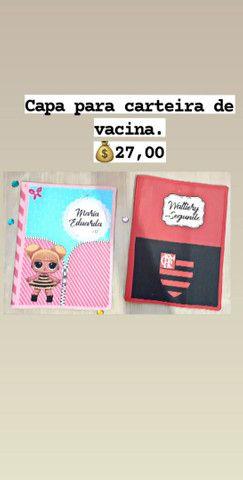 Capa para carteira de vacina